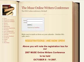 The Muse Online Writers Conference