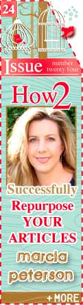 Marcia Peterson - Successfully Repurpose Your Articles