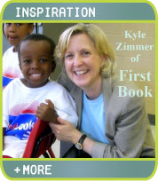 Kyle Zimmer of First Book