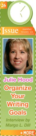 ORGANIZE YOUR WRITING IN 2009 WITH JULIE HOOD