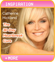 INSPIRATION: CATHERINE HICKLAND IS ALL HEART