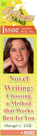 Novel Writing - Choosing a Method that Works Best for You - Margo L Dill