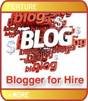 Blogger for Hire