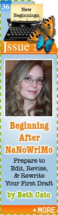 Beginning After NaNoWriMo by Beth Cato