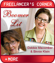 Boomer Lit - Romancing the Middle-Aged Reader - Featuring Debbie Macomber and Binnie Klein