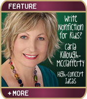 Write Nonfiction for Kids - High Concept Ideas - Carla Killough McClafferty