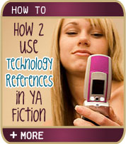 How2 Use Technology References in Young Adult Fiction - BJ Marshall