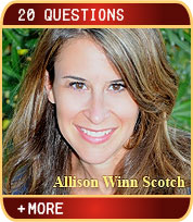 Allison Winn Scotch - New York Times Bestselling Author - 20 Questions Interview by Sara Hodon