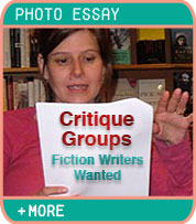 Critique Groups, Fiction Writers Wanted - Photo Essay by Margo L. Dill