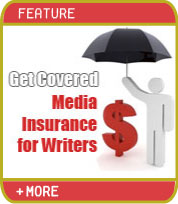 Get Covered - Media Insurance for Writers