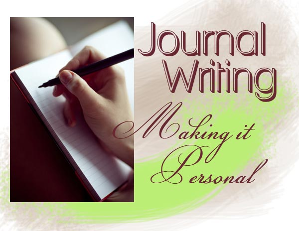 journal writing making it personal