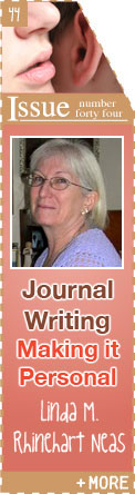 Journal Writing: Making It Personal - Linda Rhinehart Neas
