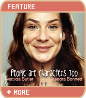 People Are characters Too - Matilda Butler and Kendra Bonnett