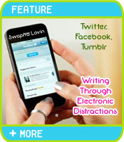 Twitter, Facebook, and Tumblr: Writing Through Electronic Distractions