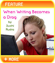 When Writing Becomes a Drag or How to Procrastinate