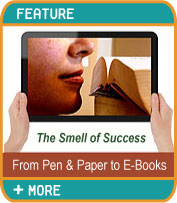 The Smell of Success - From Pen and Paper to E-Books
