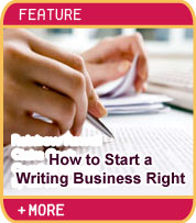How to Start a Writing Business Right - Kristie Lorette