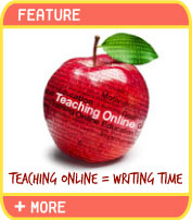 Online writing instructor