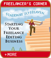 Stairway to Heaven - Starting Your Freelance Editing Business