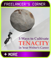 5 Ways to Cultivate Tenacity in Your Writer's Career