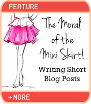 The Moral of the Mini Skirt!