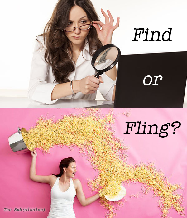 The Sub(mission): Find or Fling? Figuring Out Where to Submit Your Writing by Chelsey Clammer