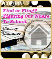 Find or Fling? Figuring Out Where to Submit by Chelsey Clammer