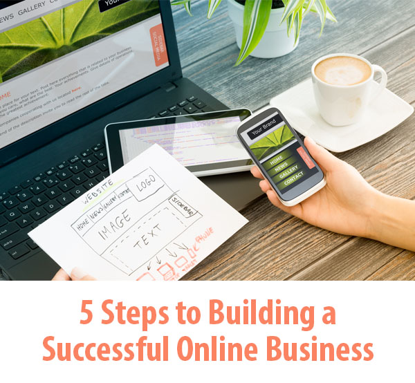 5 Steps to Building a Successful Online Business