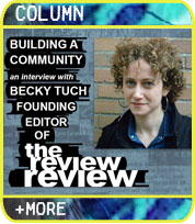 Building a Community: An Interview with Becky Tuch, Founding Editor of The Review Review