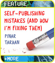 Self-Publishing Mistakes I Made (And How I'm Fixing Them