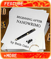 Beginning After NaNoWriMo