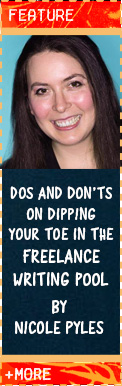 Dos and don'ts on dipping your toe in the freelance writing pool