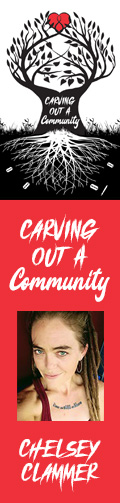 Carving Out a Community by Chelsey Clammer