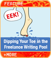 Dipping Your Toe in the Freelance Writing Pool
