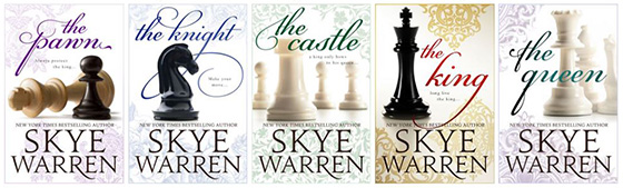 The Pawn series by Skye Warren