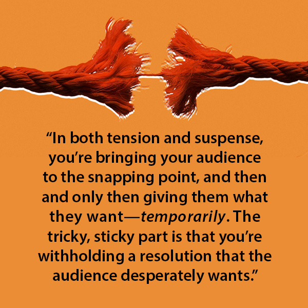 Tension and Suspense quote