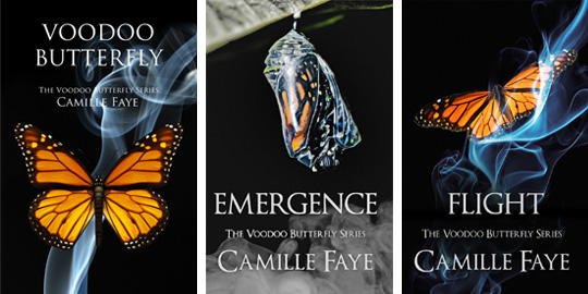 Voodoo Butterfly Series by Camille Faye
