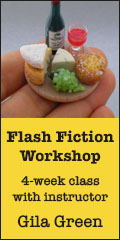 Flash Fiction Workshop - 4 week writing workshop with Gila Green