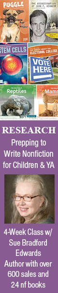 Research: Prepping to Write Children's Nonfiction